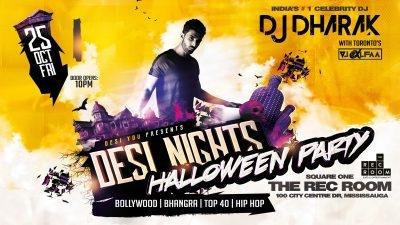 Desi Nights - The Bollywood Halloween Party ft. DJ Dharak
