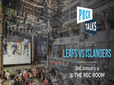 Puck Talks Watch Party: Leafs - Islanders