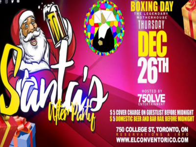 Boxing Day - Santa's Afterparty