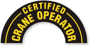 CRANE OPERATORS NOC7371